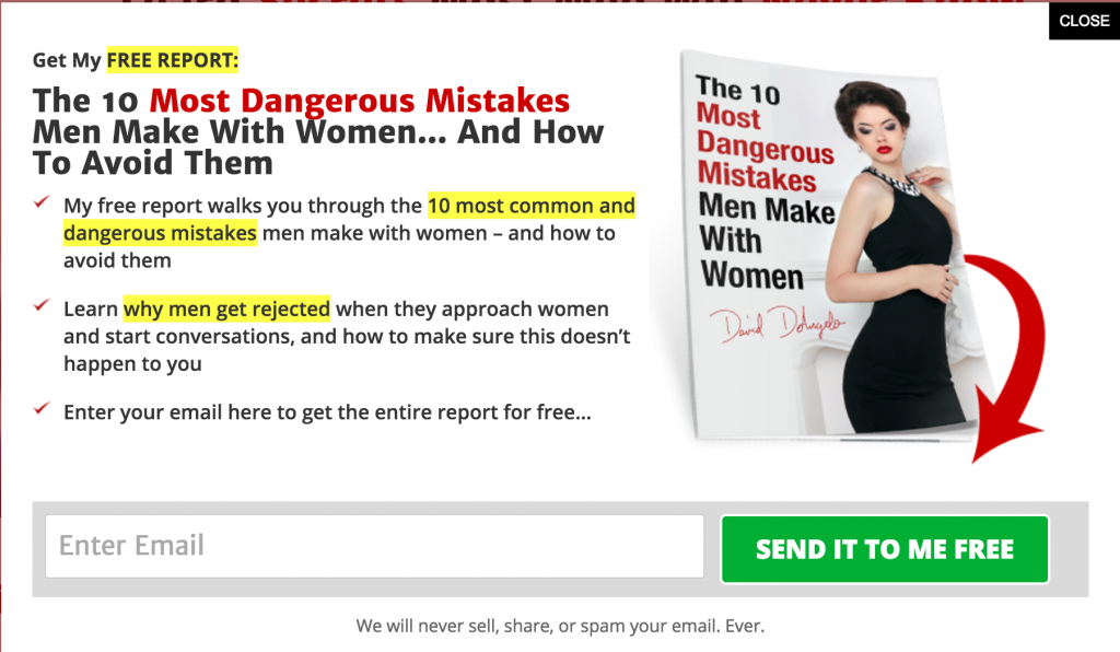 free report lead magnet