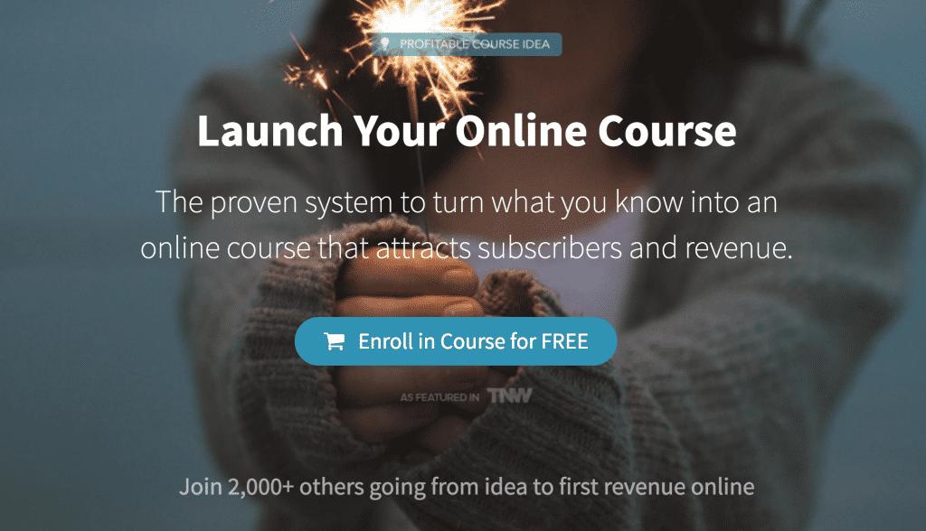 teachable online course