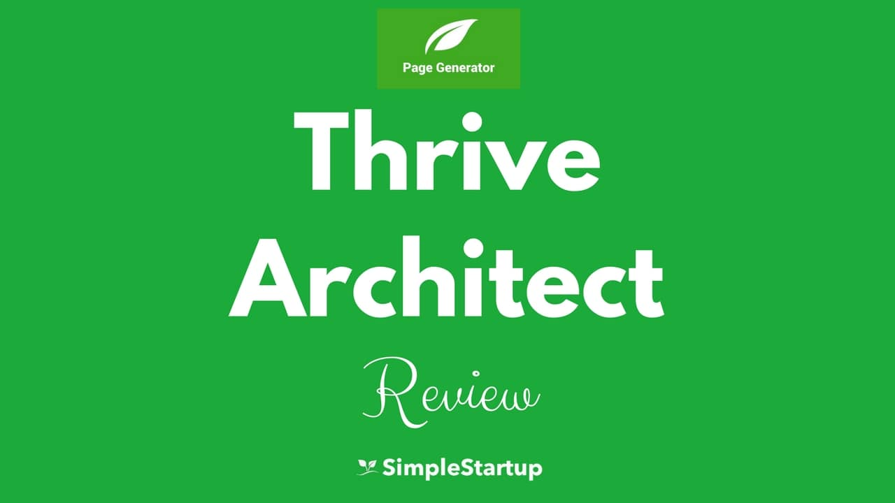 thrive architect review 2017