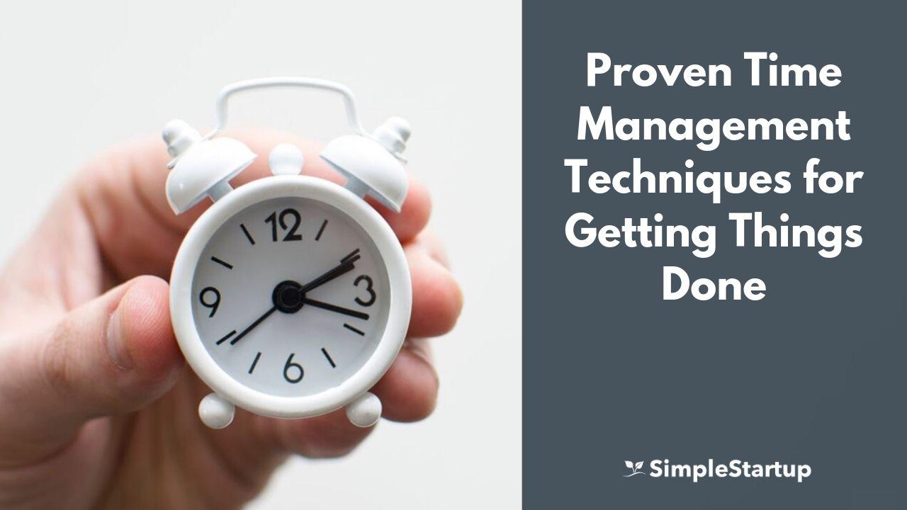 time management techniques