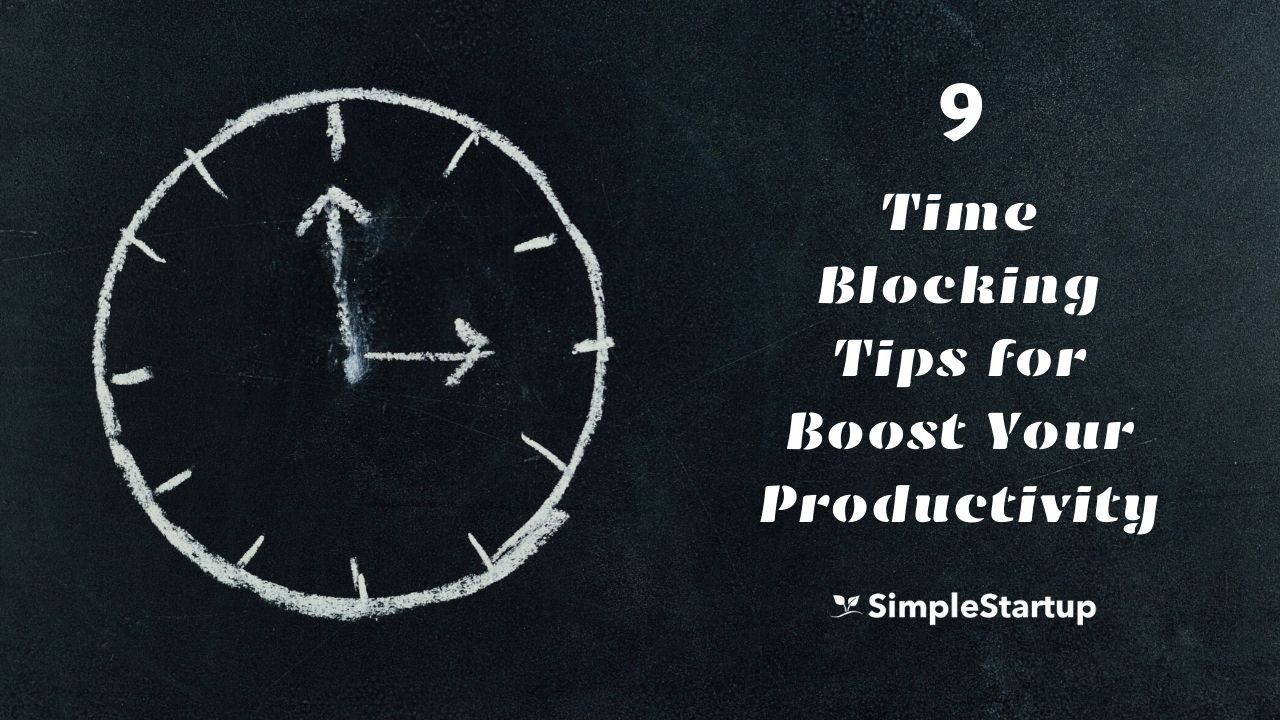 time blocking tips